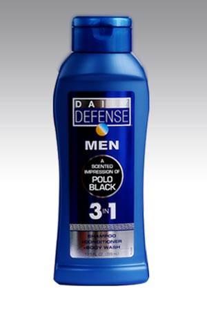 Daily-Defense-Men-3In1-Polo-Black