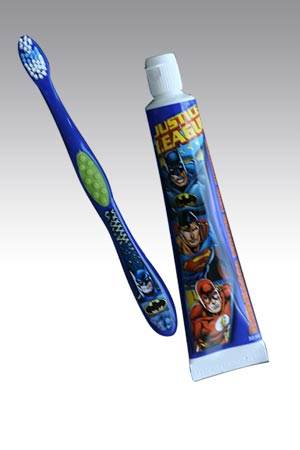 Justice-League-Toothbrush-And-Toothpaste-Set