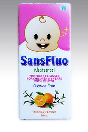 Sansfluo-Toothgel
