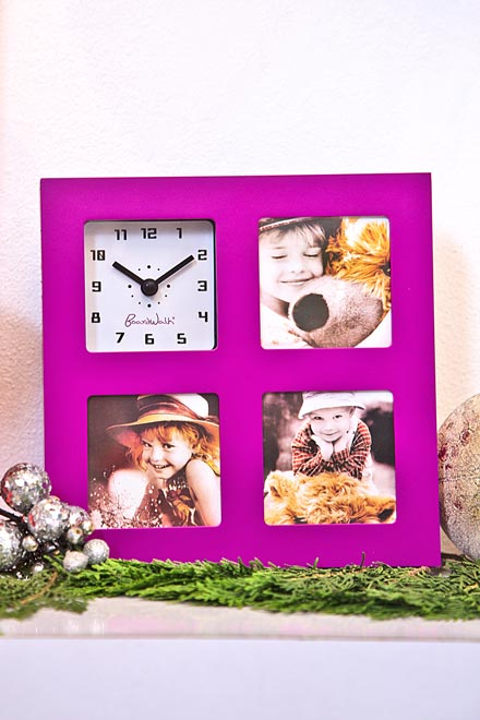 Wall-Clock-With-Photo-Frame
